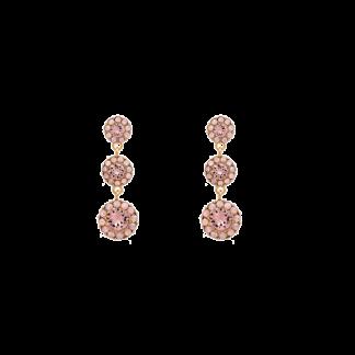 9d7331d3 Petite Sienna earrings – Vintage rose opal