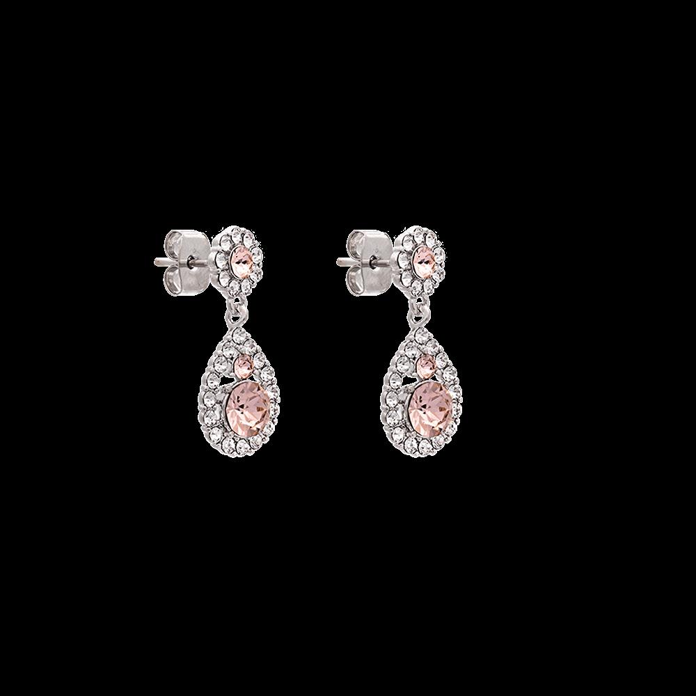 Petite Sofia earrings - Silk - Lily and Rose NO